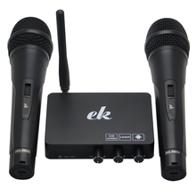 Портативный беспроводной домашний караоке эхо система пение микрофон коробка караоке плеер USB аудио для Android ТВ коробка Смарт ТВ