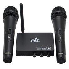 Senza Fili portatile di Casa di Famiglia Karaoke Echo Sistema di Canto del Microfono Box Karaoke Player Audio USB per Android TV Box Smart TV