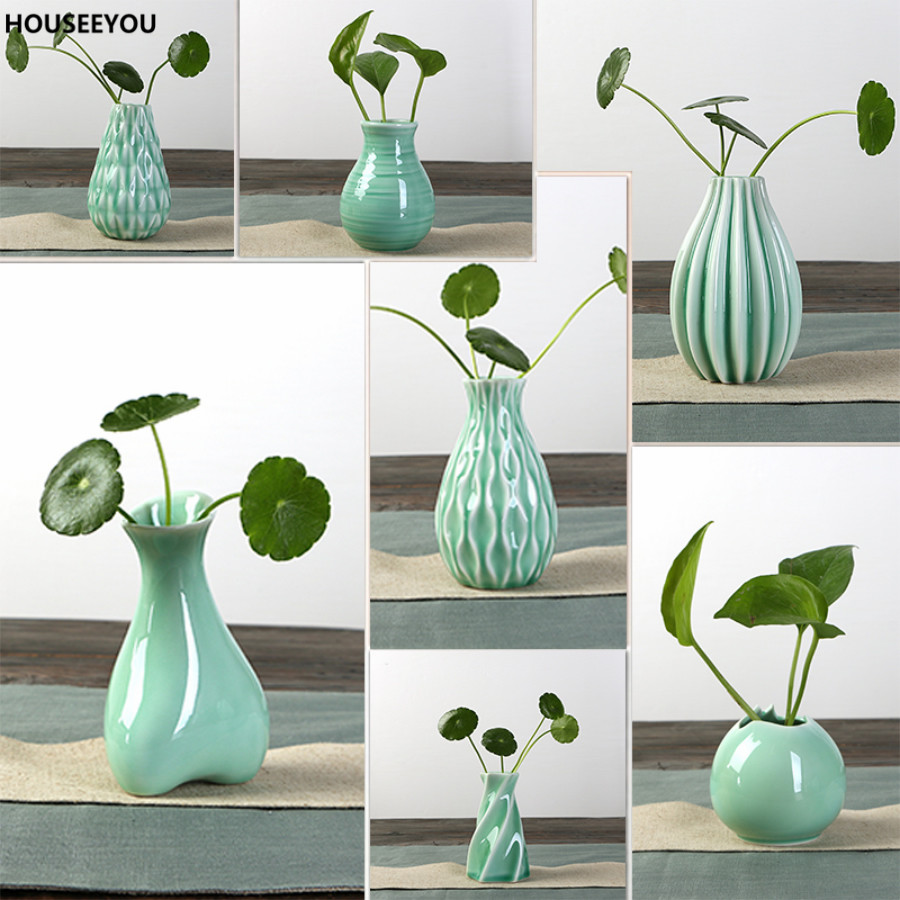 classic creative irregular ceramic vases exquisite home