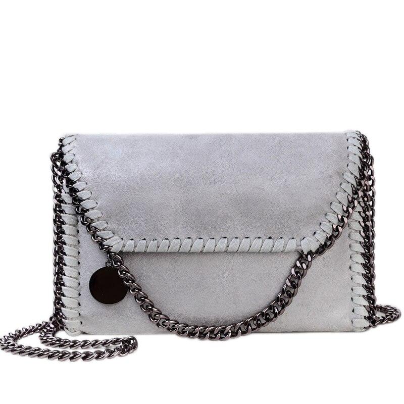 ФОТО Crossbody Bag Chain Stella Bag Fashion Simple Portable Women Shoulder Women Messenger Bag Leisure Women Bags Women's Clutches