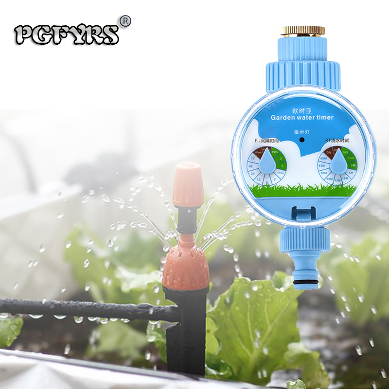 NEW 2019 Automatic Flower Pouring Controller Timing Water Valve water timer garden water system controller hose timer gardening(China)