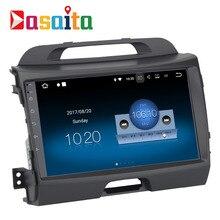 Dasaita 9 «Android 7.1 автомобиль GPS плеер Navi для Kia Sportage R 2011-2016 с 2 г + 16 г 4 ядра стерео Радио мультимедиа HDMI