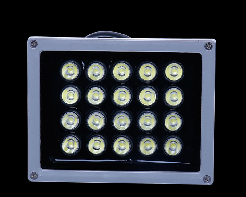 2pcs/lot led floodlight 20w Cold White Led Flood Light Spotlight 220V 110V Waterproof Outdoor Wall Lamp Garden Projectors
