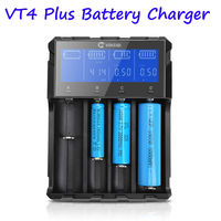Smart Battery Charger Support Quick charge With LCD Display 12V 24V For LI ion NiMH Ni CD AA AAA AAAA 26650 14500 22650 18650