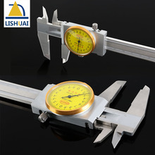 Promo offer 0-300mm Shockproof Stainless Steel Dial Caliper/Vernier Caliper with Inside, Outside, Step and Depth Measurement