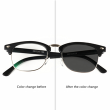 New Transition Sunglasses Photochromic To Gray Reading Glasses Men Women Presbyopia Eyewear Diopters Frame