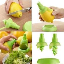 2Pcs/set Creative Lemon Sprayer Fruit Juice Citrus Lime Juicer Spritzer Kitchen Gadgets Spray Fresh for