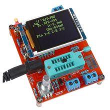 GM328 Multi-use Transistor Tester DIY Kit Diode Capacitance Voltage Meter PWM Square Wave Signal Generator +DIY Acrylic Case diy 555 multi wave signal generator circuit kit