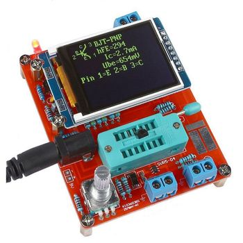 GM328 Multi-use Transistor Tester DIY Kit Diode Capacitance Voltage Meter PWM Square Wave Signal Generator +DIY Acrylic Case multifunctional tester gm328 transistor tester diode capacitance esr voltage frequency meter pwm square wave signal generator