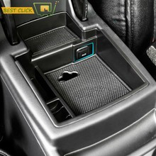 Armlehne Storage Box Für AUDI Q5 2009-2017 Center Konsole Bin Handschuh Fach Halter Fall Auto Organizer 2010 2011 2012 2013 2014 2015(China)