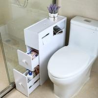 New Waterproof Bathroom Storage Rack Toilet Side Cabinet Bathroom Shelves Environmentally Friendly Home Storage