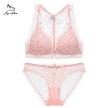 New 2019 Luxury Elegance Vs Bra And Panty Set Y-line Underwear Female  Lace Brand Push Up Secret Women
