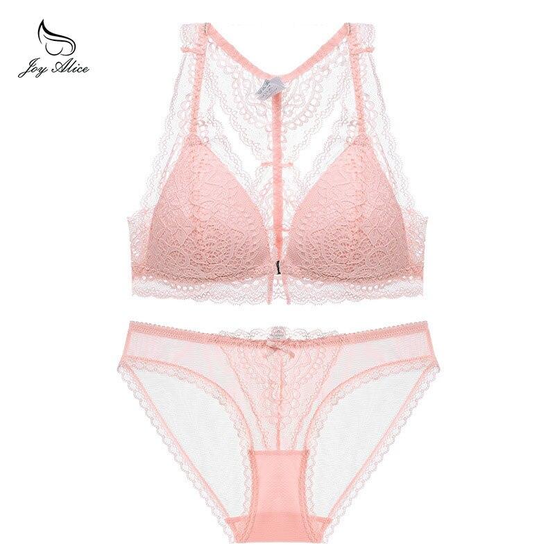 New 2019 Luxury Elegance Vs   Bra   And Panty   Set   Y-line Underwear   Set   Female Lace Brand Push Up Secret Women   Bra     Set