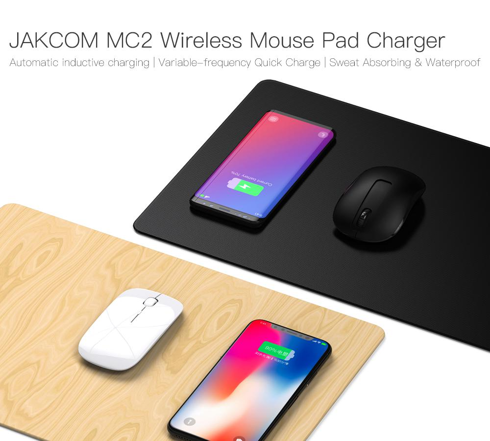 JAKCOM MC2 Wireless Mouse Pad Charger Hot sale in Chargers as bateria externa de celular data show batery charger