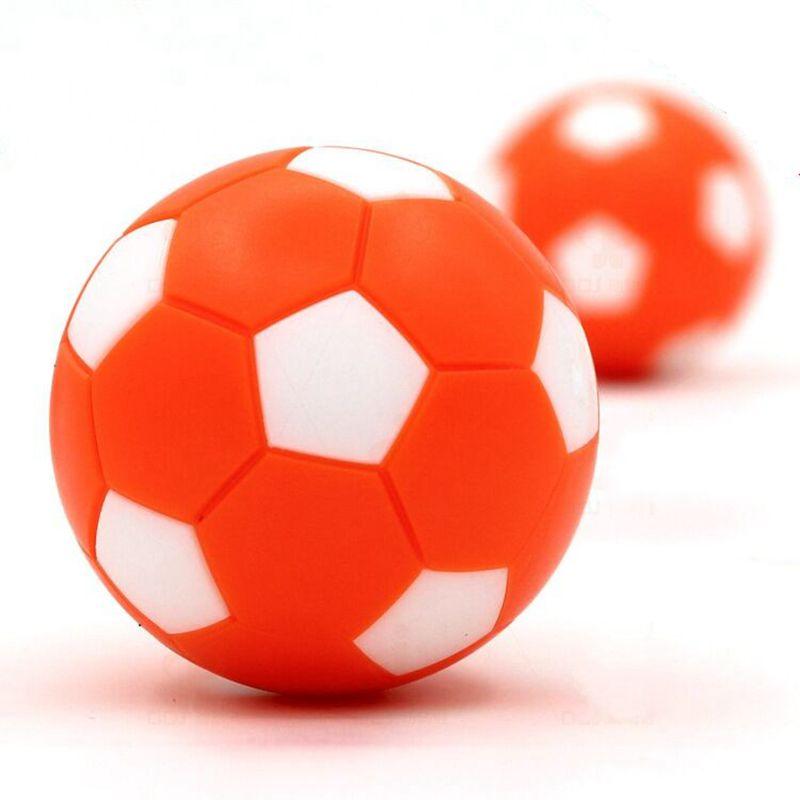 Rodzinny stół do gry w piłkarzyki 36 mm plastikowe pomarańczowe - Rozrywka - Zdjęcie 5