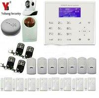 Yobang Security Android Ios APP Control Home Security Alarm System With PIR Motion Sensor Door Gap