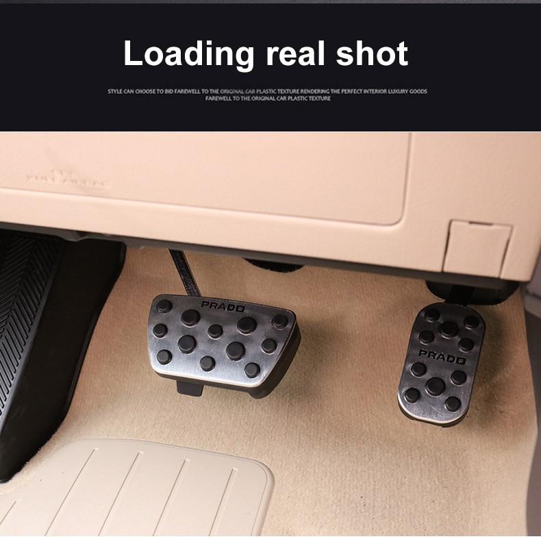 freio pedal almofada cobre para toyota land