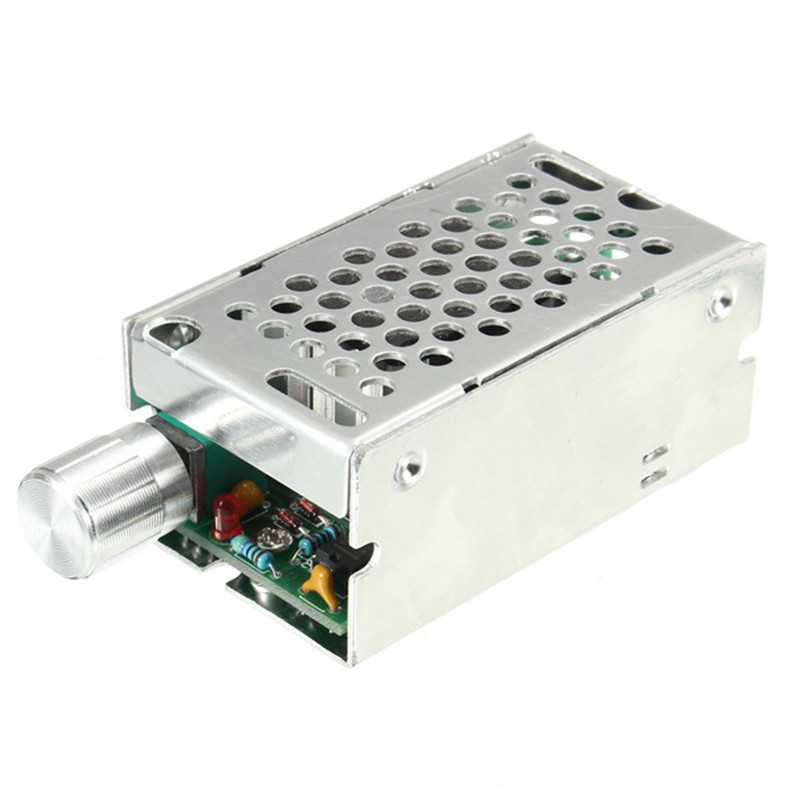 1pc New Durable 12-50V 30A 500W Adjustable Speed Controller DC Brush Motor Speed PWM Controller