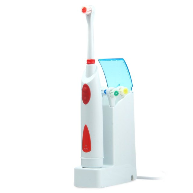 2016 Nuevo Diseño 220 v 4 Cepillos cepillo de Dientes Blanqueamiento de Dientes Eléctrico Niños Adultos Recargable Cepillo de Dientes Oral Higiene Dental Care1