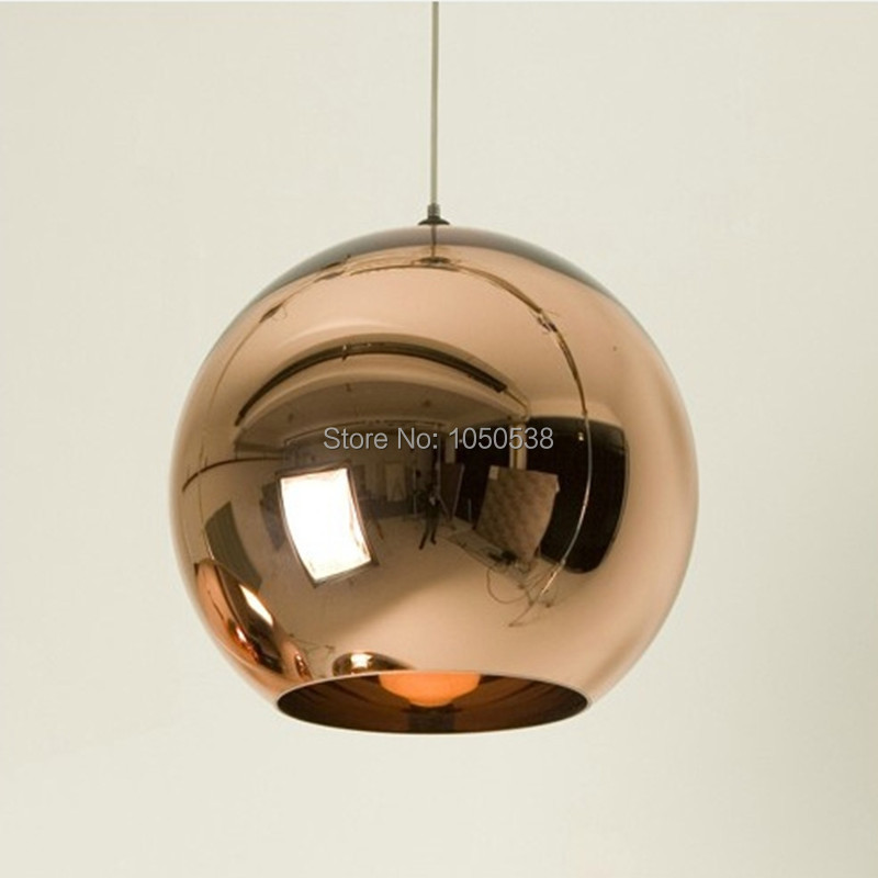 30 Off Designer Silver Copper Shade Mirror Ball Lamp