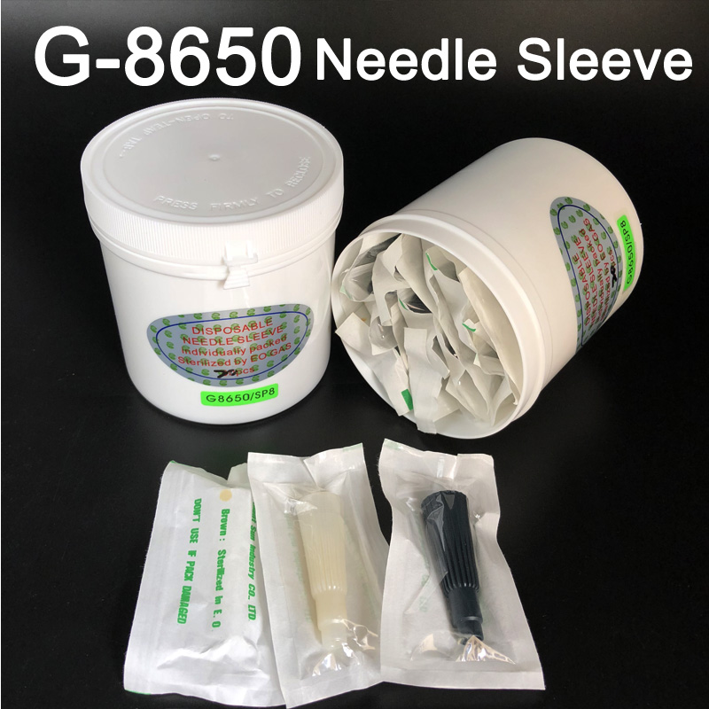 Original High Quality Taiwan Giant Sun G-8650 tattoo machine accessories Needle Sleeve G8650 Permanent Makeup Machine G8650/SP8
