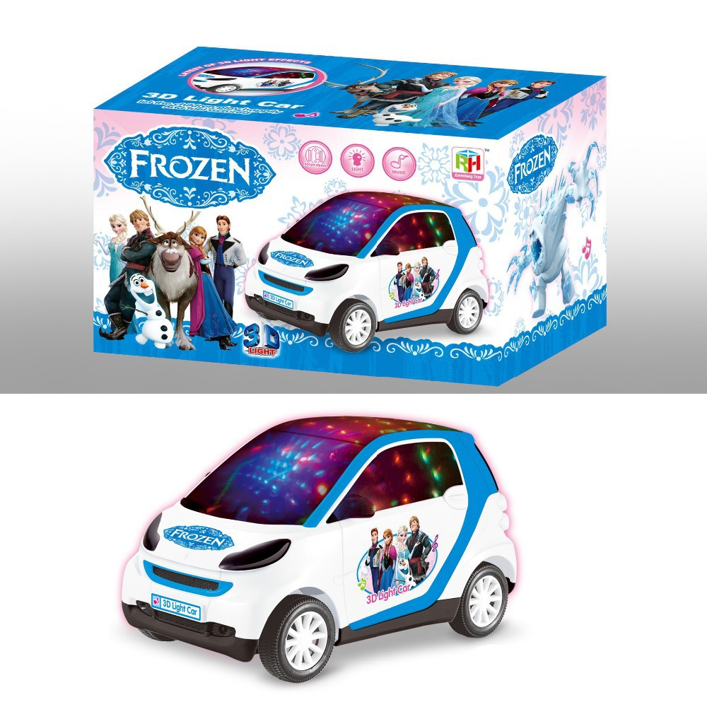 Frozen Toys Party Car Cartoon Toy Cars Frozen Theme