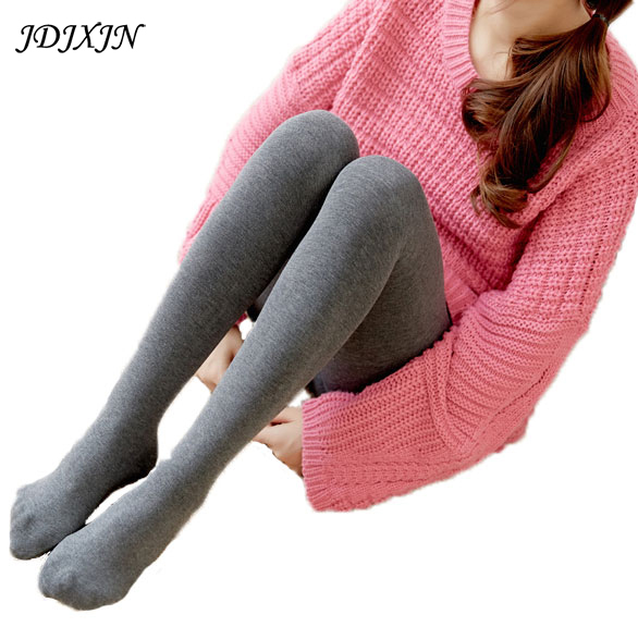 Sexy Women Lady Footed Tights Pantyhose Foot Seamless Stockings Beauty Autumn Winter Warm Velvet Ankle-Length Dres W27