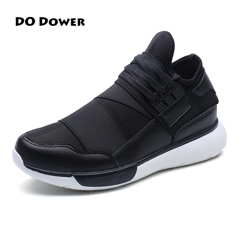 Do Dower Autumn Mesh Sports Shoes Black White Jogging Cheap Y3 Sneakers For Man Outdoor Flat Walking Trend Shoes Hot Sale 2016 sale hard court medium b m running shoes new men sneakers man genuine outdoor sports flat run walking jogging trendy