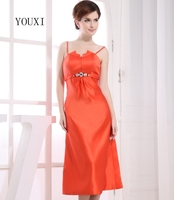Sexy Orange Prom Dresses 2019 Hot Cocktail Party Dress For Women PD124