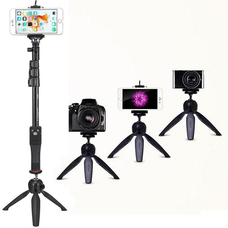 Macchina fotografica Photo Kit: bluetooth Scatto Remoto Treppiede e Palmare 2in1 Telefono Selfie Stick Monopiede Per Samsung NOTA 9 Bordo Più Z G5