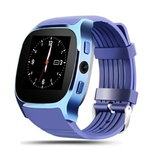 T8 Bluetooth Smart Watches Support Camera Call Sync call message Bluetooth Pedometer TF Card Extend GSM Smartwatch For Android