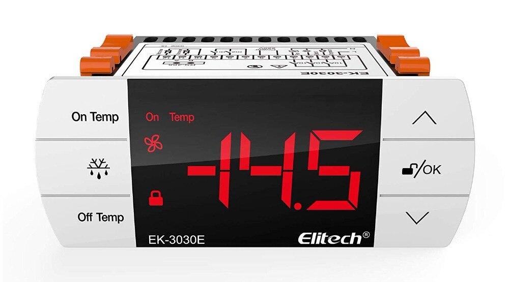 Elitech EK-3030E Temperature Controller Thermostat with Sensor for UK and Europe 220VElitech EK-3030E Temperature Controller Thermostat with Sensor for UK and Europe 220V