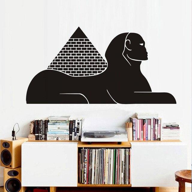 Egyptische Piramide Sfinx Muursticker Nieuwe Ontwerp Vinyl ...