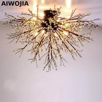 Потолочный вентилятор Хрустальная люстра Хрустальные люстры лампы для гостиной Спальня светильники Кухня современные светодиодные лампы