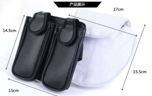 Naruto Weapon Kunai  Bag + White Waist Shuriken Pack