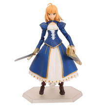 Anime Fate/stay night Figma EX-025 Saber Dress Ver. PVC Action Figure Collectible Model Toy 14cm KT2149