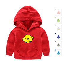 Girls Boys Clothes Kids Tops Casual Fashion Hoodies Sweatshirts Spring Autumn Outwear Full Sleeve with Cute Character Printed