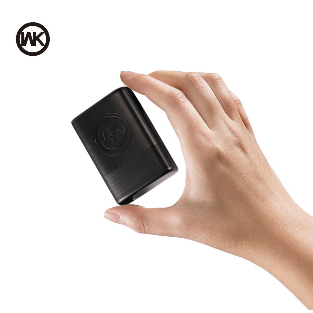 WK 5000 mAh Tragbare Ladegerät Slim Mini Power Bank 18650 Power Externe Batterie für Xiaomi Power Bank iPhone X Bateria externa