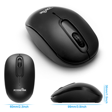 Ergonomic Silent USB Wireless Mouse for Computer