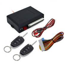 2016 Keyless Entry System Universal Car Auto Remote Central Kit Door Lock Locking Vehicle With Remote Controllers Car-styling