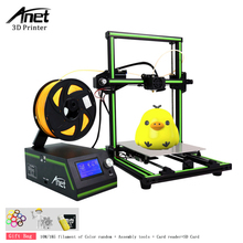 цена на Anet E10 3D Printer High Accuracy DIY 3D Printer Kits impressora 3d  Plus Size Reprap i3 Printer with SD card 10M/1kg Filament