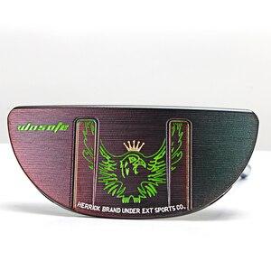 Image 5 - Clubes de golfe putter men destro forma semicircular forjado cnc eixo de dobra aço face equilíbrio pvd preto frete grátis