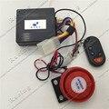 12 V sirene de alarme de carro Anti-roubo dispositivo Elétrico esportes Genuínos Zuma Karting ATV motocross guarda pedal Com controle remoto controle