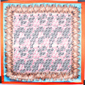 2016 Silk F Double F Big Letters Home Simulation Silk Towel Lady Square Scarf