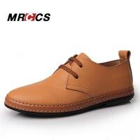 MRCCS Prosta Konstrukcja Ręcznie męskie Obuwie, Miękkie Skórzane Wygodne Buty, Vintage Proste Style Żółty/Brown/czarny