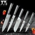 Кухонные ножи <font><b>xyj</b></font> из нержавеющей стали ножи для чистки утилита сантоку шеф-повара ножи для нарезки кухонные инструменты Аксессуары Новое пос...