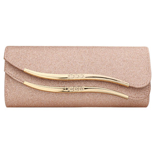 Image 1 - New Fashion Sequined Envelope Clutch WomenS Evening Bags Bling Day Clutches Pink Wedding Purse Female Handbag 2019 Banquet Bag