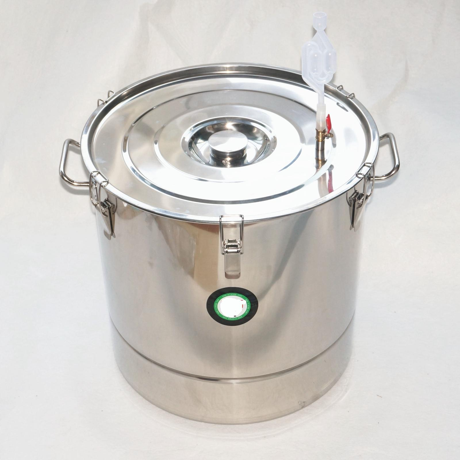 Фотография 70L 301 Stainless Steel Fermenter Fermentation Barrel Home Brew Wine Beer