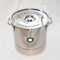 70L 301 Stainless Steel Fermenter Fermentation Barrel Home Brew Wine Beer