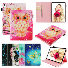 Tablet Case For Samsung Galaxy Tab S4 10.5 T830 T835 SM-T830 SM-T835 10.5 Cover Funda Tablet Fashion 3D painted OWL Coque Shell 2018 new for samsung galaxy tab s4 10 5 case shockproof tablet liner sleeve bag for galaxy sm t830 sm t835 t830 t835 cover